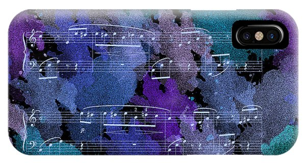Fur Elise Music Digital Painting IPhone Case