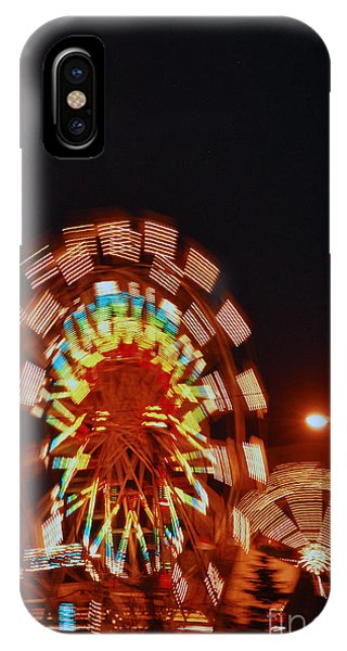 Fur Rondy Ferris Wheel In Anchorage IPhone Case