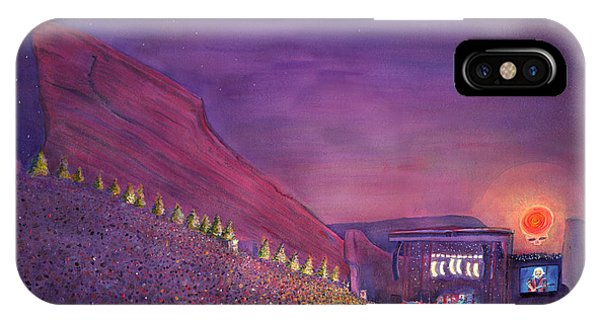 Furthur Red Rocks Equinox IPhone Case
