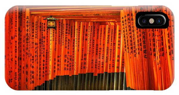 Fushimi Inari IPhone Case