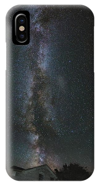 Abandoned Houses iPhone Case - Galactic Alignment by Aaron J Groen