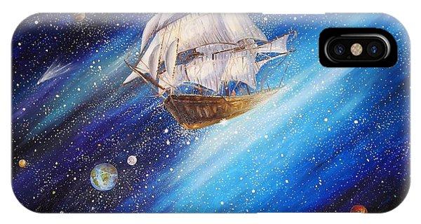 Galactic Traveler IPhone Case