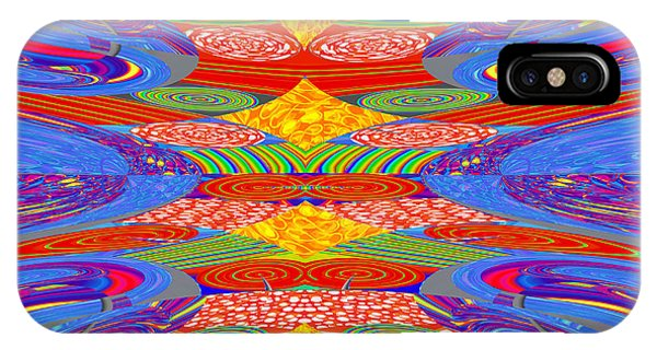 Galaxy Transit Union Ufo Docking Station Fantasy 2050 Art Background Designs  And Color Tones N Colo IPhone Case