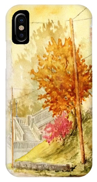 Galena Prospect And Hill Streets IPhone Case