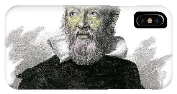 Controversial iPhone Case - Galileo Galilei by Detlev Van Ravenswaay