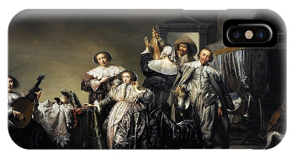 Gallant Company, 1633, By Pieter Codde 1599-1678 IPhone Case