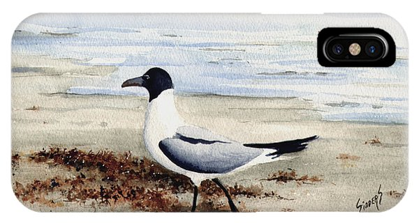 Galveston Gull IPhone Case