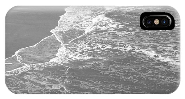Galveston Tide In Grayscale IPhone Case