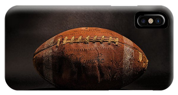 Sport iPhone X Case - Game Ball by Peter Tellone
