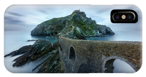 Fort iPhone Case - Games Of Thrones - Dragonstone Island -san Juan De Gaztelugatxe by Jes?s M. Garc?a