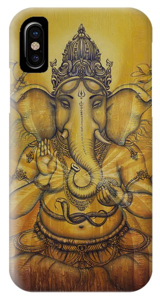 Ganesha Darshan IPhone Case