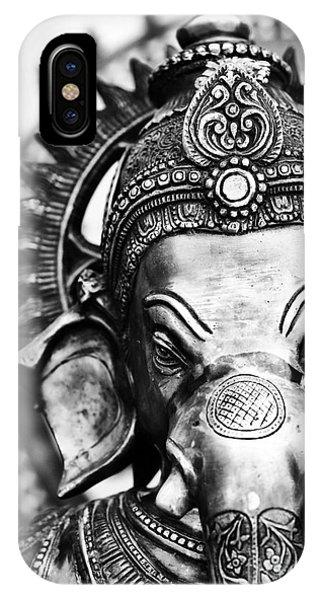 Ganesha Monochrome IPhone Case