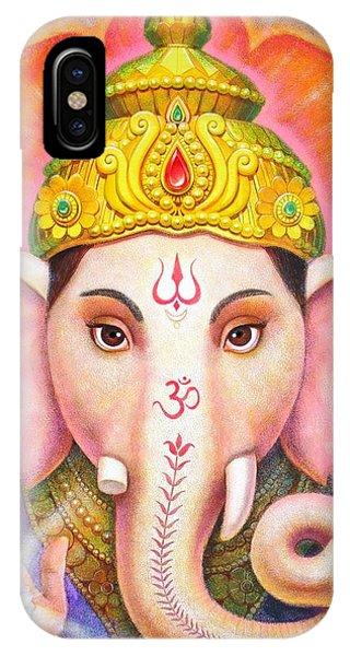 Ganesha's Blessing IPhone Case