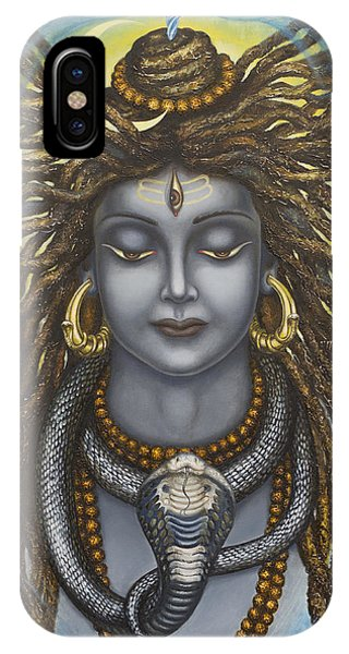 Gangadhara Shiva IPhone Case