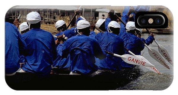 Ganvie - Lake Nokoue IPhone Case