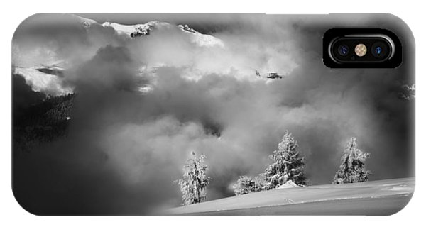 Mist iPhone Case - Gaps In The Clouds by V?roniques