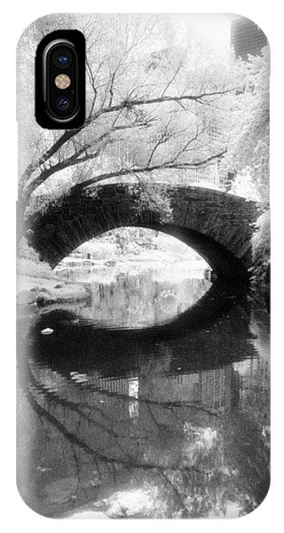 Central Park Photograph - Gapstow Bridge Vertical IPhone Case