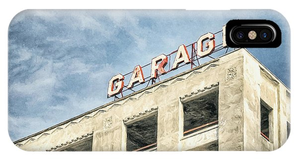 Minimalist iPhone Case - Garage by Scott Norris