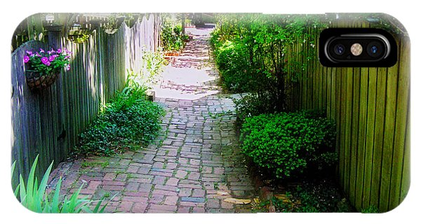 Garden Alley IPhone Case