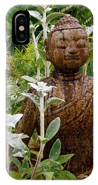 Garden Buddha IPhone Case