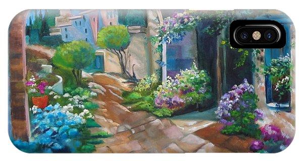 Garden Courtyard IPhone Case