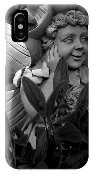 Garden Fairy Statue IPhone Case