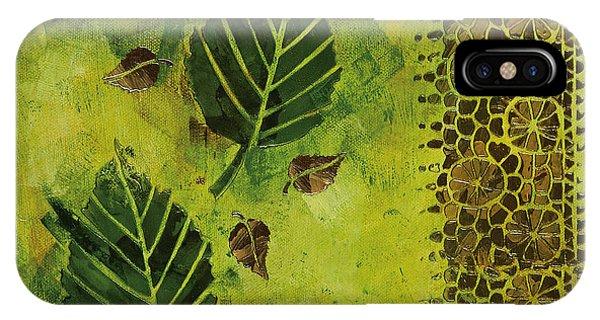iPhone Case - Garden Fresco by Julie Acquaviva Hayes