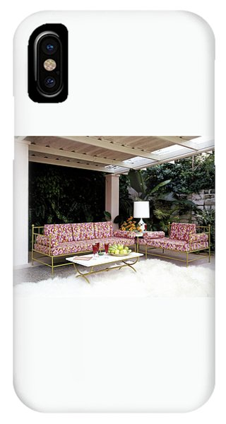 Garden-guest Room At The Chimneys IPhone X Case