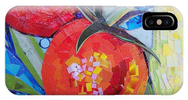 Garden Harvest Collage Detail IPhone Case