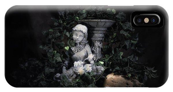 Greenery iPhone Case - Garden Maiden by Tom Mc Nemar