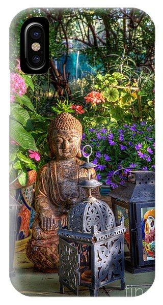 Garden Meditation IPhone Case
