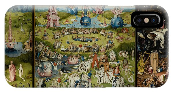 iPhone Case - Garden Of Earthly Delights by Hieronymus Bosch