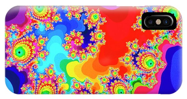 Julia Fractal iPhone X Case - Garden Of Inspiration by Gregory Sams/science Photo Library
