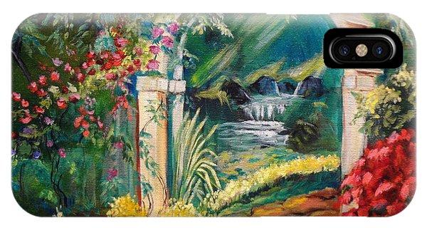 Garden Of Serenity Beyond IPhone Case