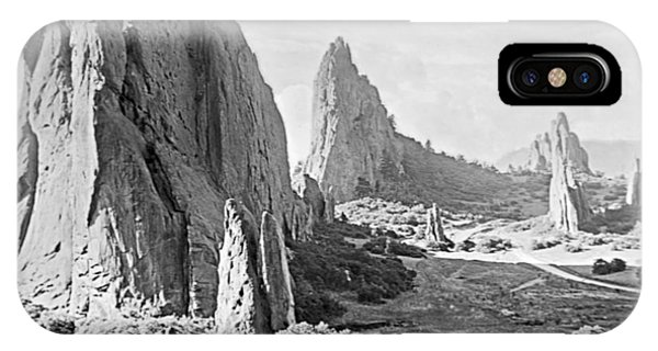 Garden Of The Gods 1915 IPhone Case