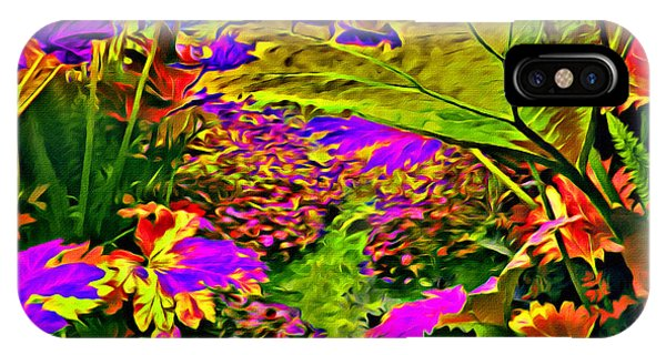 IPhone Case featuring the photograph Garden Of Color by Beauty For God