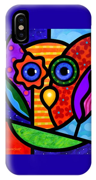 Garden Owl IPhone Case