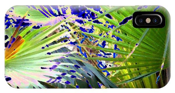 Garden Palms IPhone Case