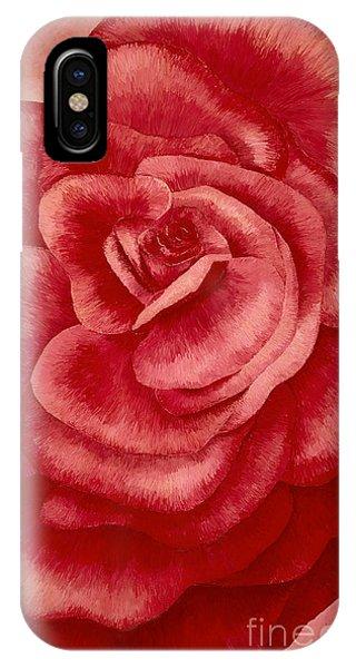 Garden Rose IPhone Case