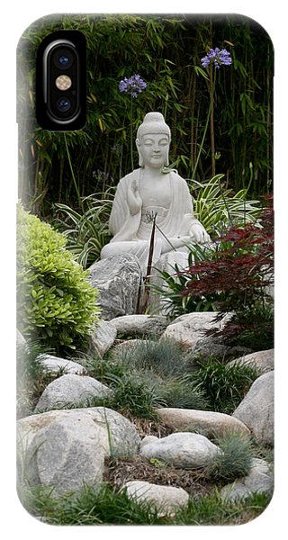 Garden Statue IPhone Case