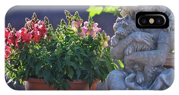 Garden Statue IPhone Case