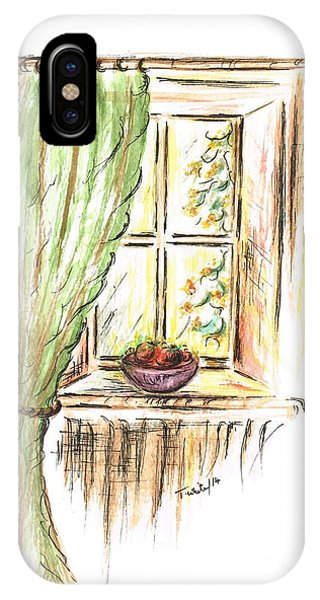 Garden View IPhone Case