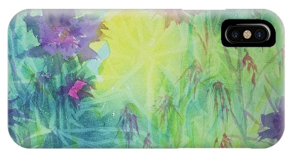 Garden Vortex IPhone Case