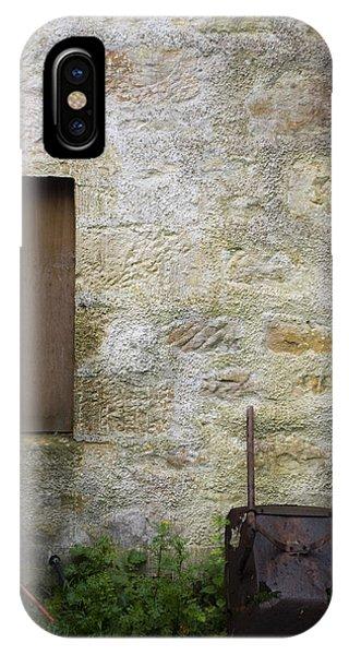 Garden Wall Dornoch Scotland IPhone Case