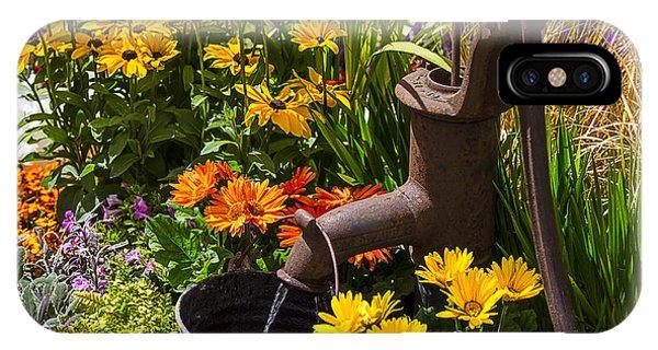 Garden Water Pump IPhone Case