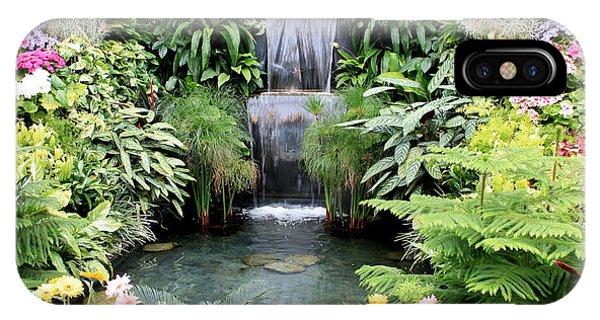 Garden Waterfall IPhone Case