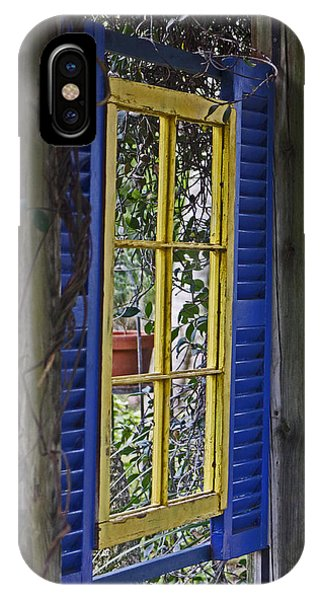 Garden Window IPhone Case