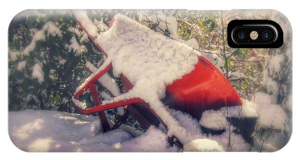 Gardener's Winter Dream IPhone Case