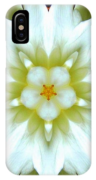 Gardenia Kaleidoscope 1 IPhone Case