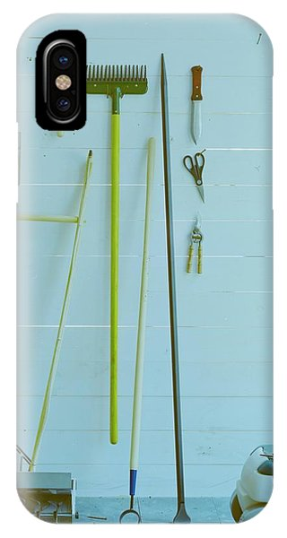 Gardening Tools IPhone Case
